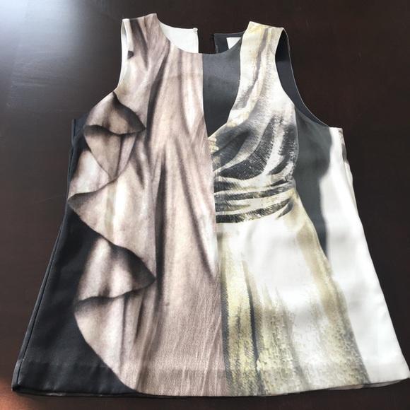 H&M Silky sleeveless blouse Size 2 US